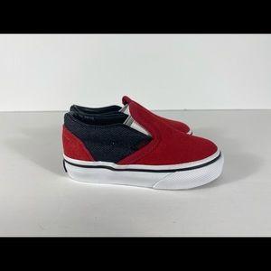 Vans Shoes - Vans Classic Slip-On Suede & Suiting Sneakers